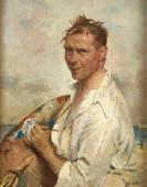 William Orpen studied in Dublin and London, then t...